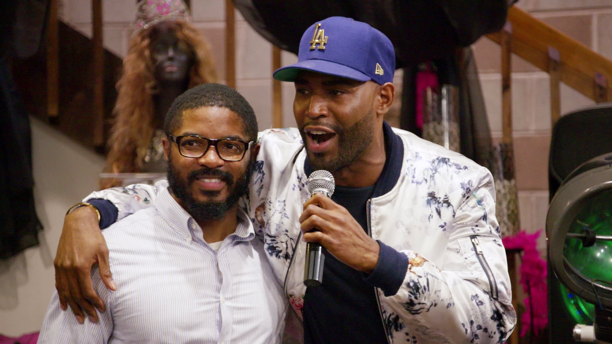 QUEER EYE, (aka QUEER EYE FOR THE STRAIGHT GUY), from left: AJ Brown, Karamo Brown, 'To Gay or Not Too Gay', (Season 1, ep. 104, airs Feb. 7, 2018). photo: Netflix / Courtesy: Everett Collection