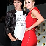True Blood's Anna Paquin and Stephen Moyer Make a Dangerously Sexy Pair at Comic-Con