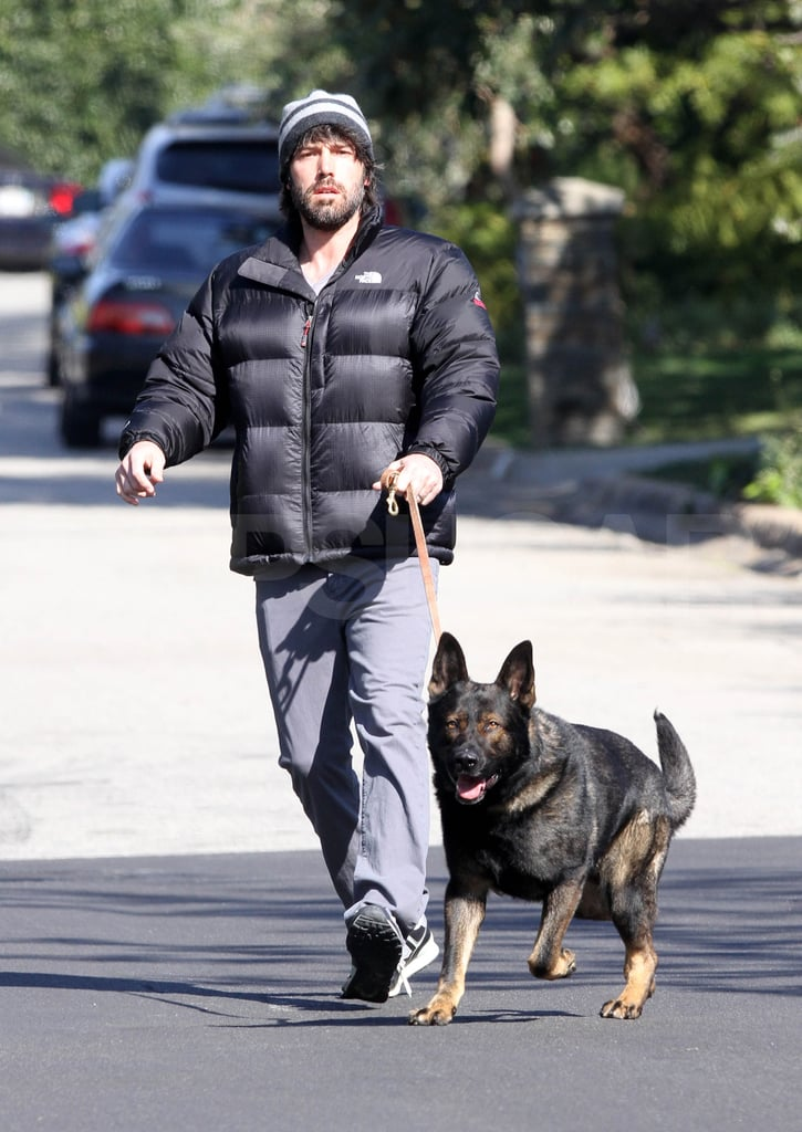 Ben Affleck was ready for Winter in LA.