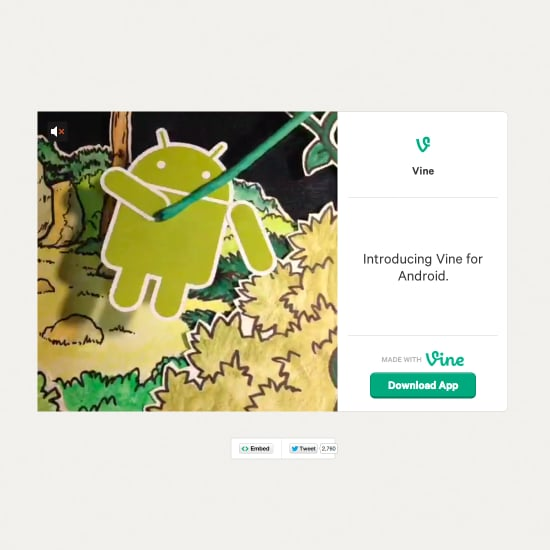 Vine Android App