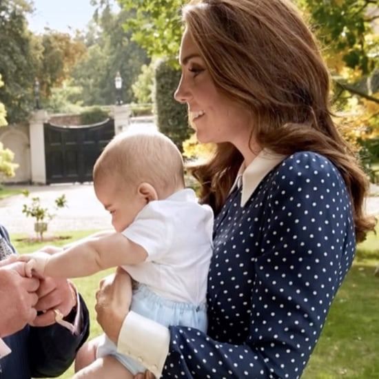 Prince Louis Photo With Kate Middleton and Charles 2018