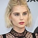 Lucy Boynton's Elevated Eyeliner
