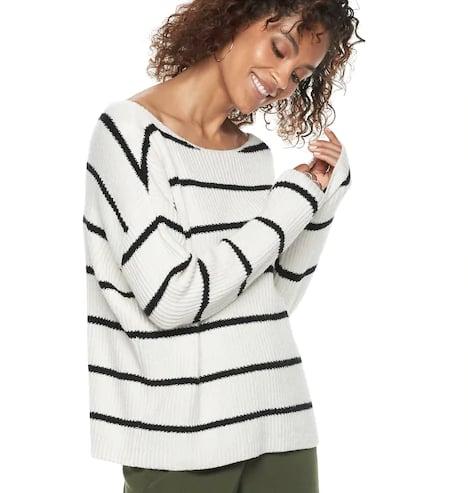 Striped Oversized Sweater