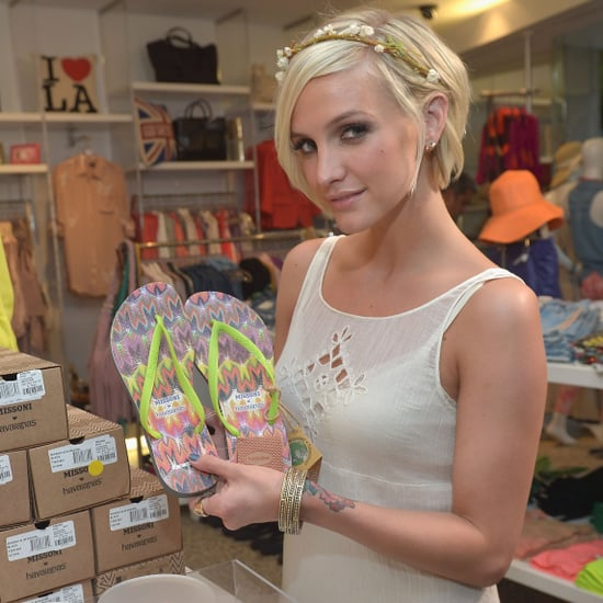 Ashlee Simpson Talks About Jessica's New Baby And Her Motherly Style At The Missoni For Havaianas Launch
