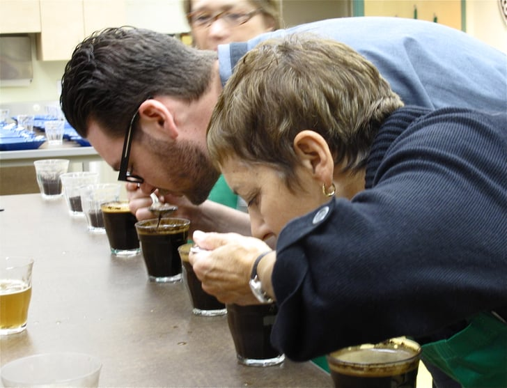 Photo Gallery: Cupping Coffee at Starbucks Coffee College
