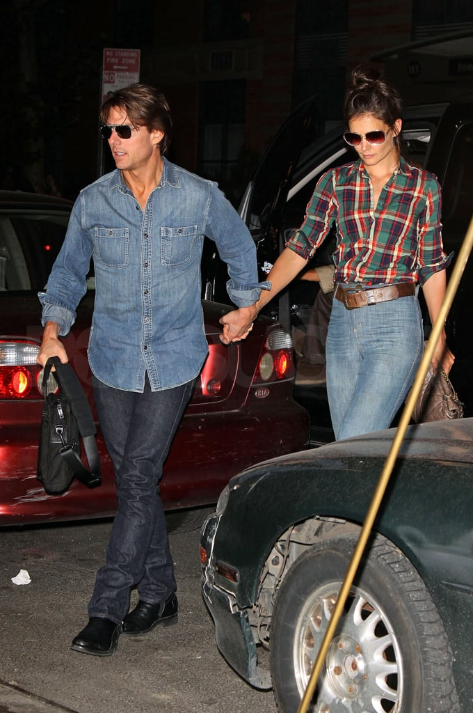 Pictures of Tom Cruise, Katie Holmes, and Cameron Diaz Together in NYC