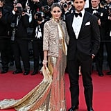 While attending the Cannes premiere of The Immigrant, these two did what they do best in their rich red carpet designs.