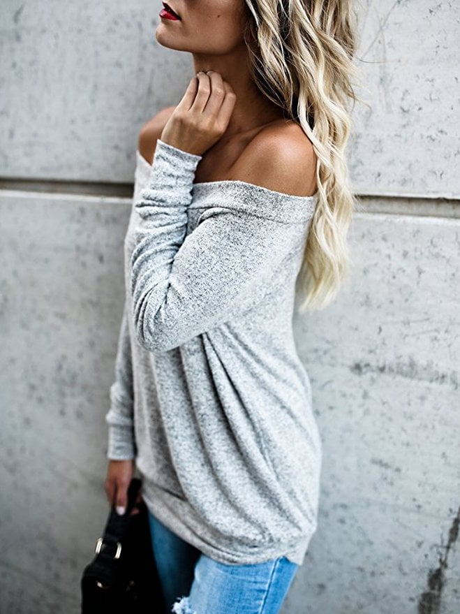 VintageRose Long-Sleeved Sweater
