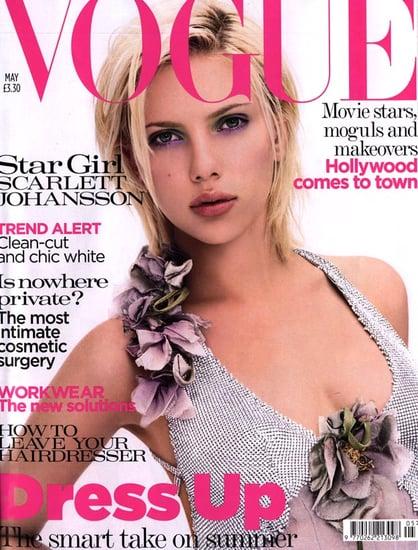 Scarlett Johansson Vogue covers