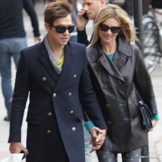 Kate Moss and Jamie Hince Holding Hands in London