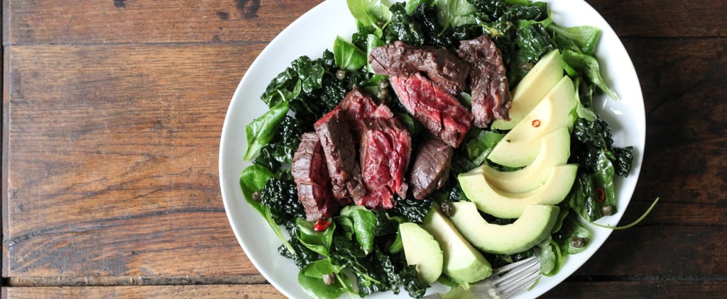 Kale Salad With Steak and Avocado Recipe