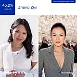 And Zhang Ziyi . . .