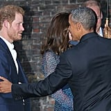 Prince Harry and Barack Obama Pictures