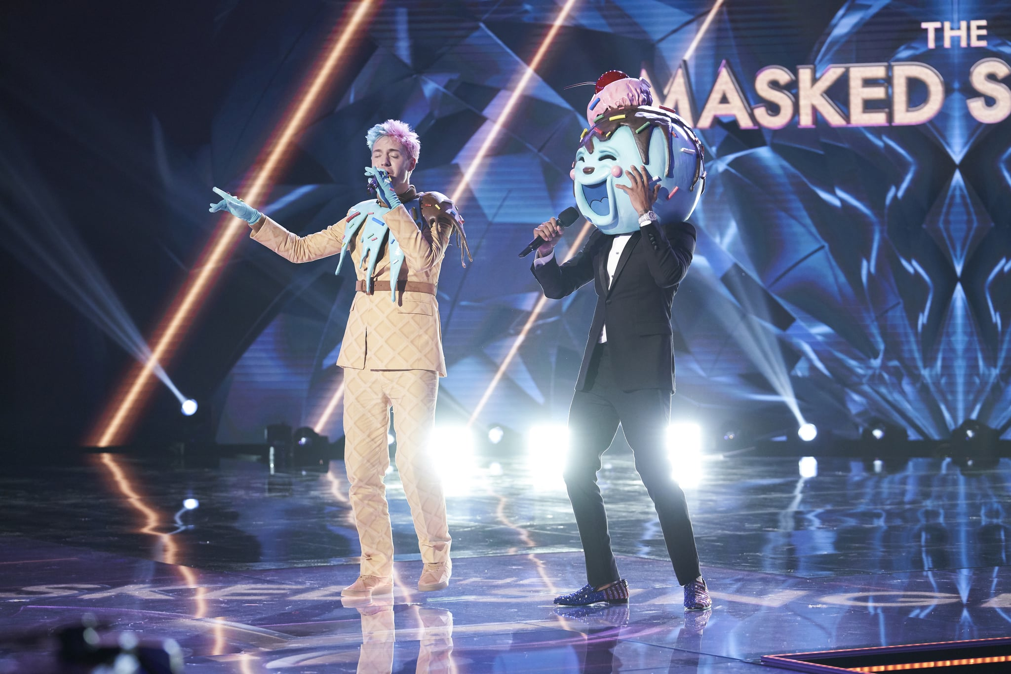 Ice Cream Is Ninja Who Is On The Masked Singer Season 2 The Ultimate Guide To The Stars Under Those Masks Popsugar Entertainment Photo 21