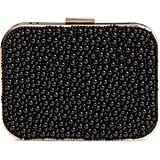 Violet Ray New York Beaded Box Clutch