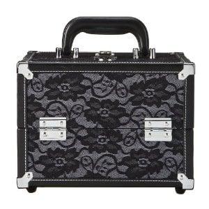Caboodles Black Lace Cosmetic Case ($21)