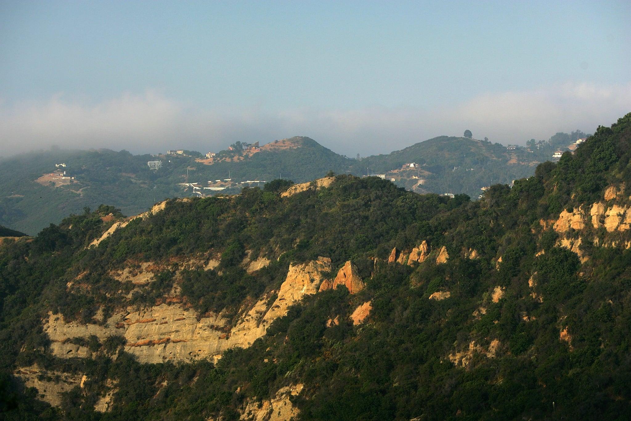 Santa Ynez Canyon in Topanga State Park<br />