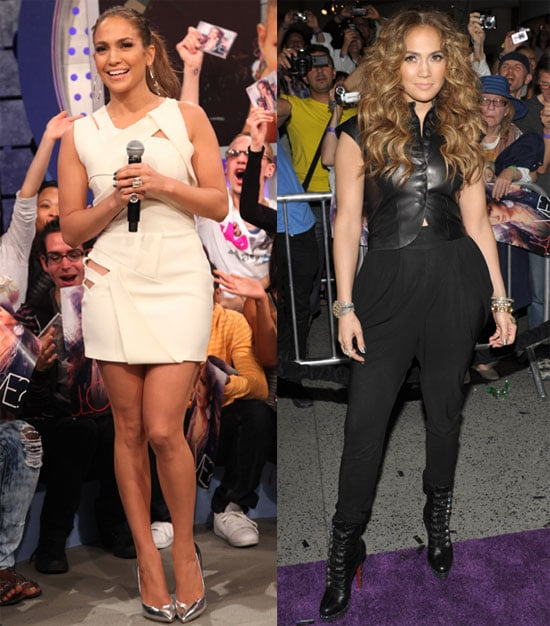 Jennifer Lopez Promoting Her CD on BET and in LA