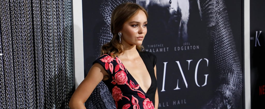 Lily-Rose Depp's Dress at The King Premiere