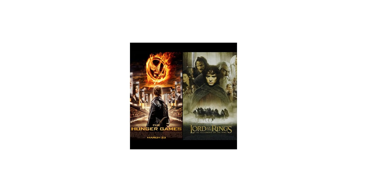 hunger games vs lord of the Lord of the rings by far don't get me wrong, hp and con are really good, but they both pale in comparison to lotr i have sadly never read the hunger games, so i am afraid i will have to rule that out as well.