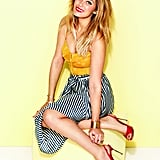 Lauren Conrad posed for Lucky's March 2013 issue.