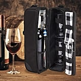 Wine Tote Bag With Cooler Compartment