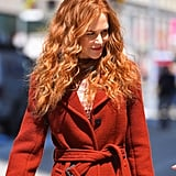 Nicole Kidman With Red, Curly Hair in 2019