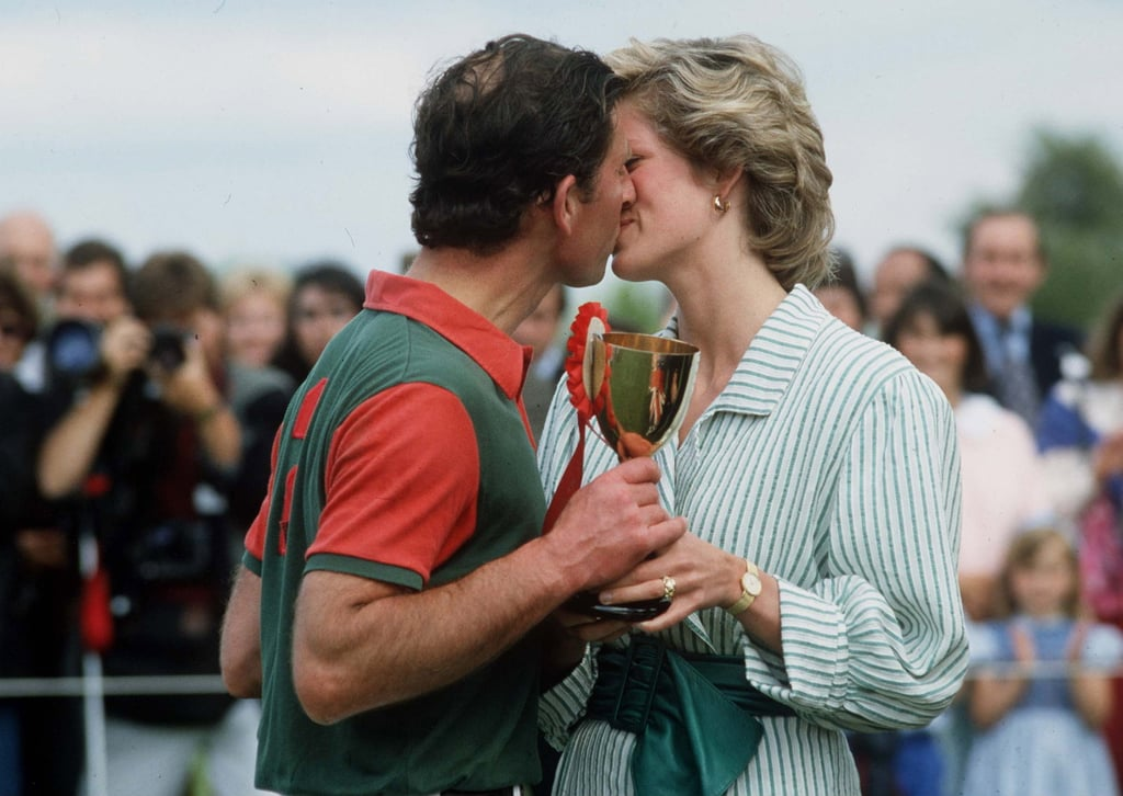 We all remember the awkward picture of Charles and Diana's missed kiss at the polo in 1992, but they were once a couple in love, and it showed at an earlier polo match in 1985.