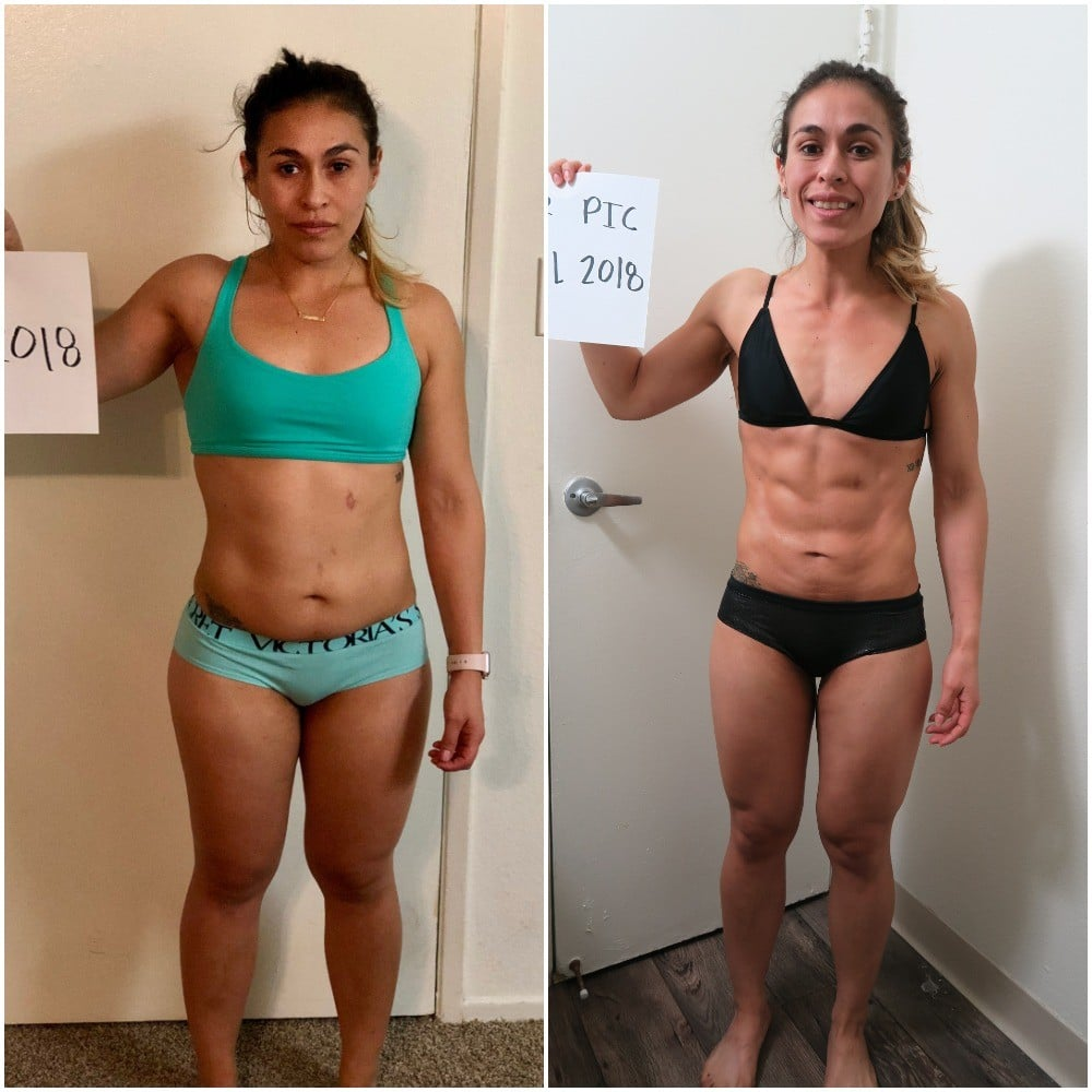 Ana Ate This Many Meals a Day to Lose 37 Pounds and Get Shredded Abs