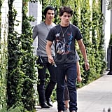 Jonas Brothers Do Lunch
