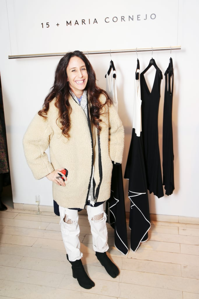 Mara Hoffman at the Barneys cocktail party for Maria Cornejo.
