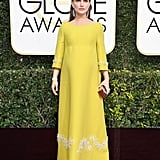 She Wore a Yellow Prada Gown