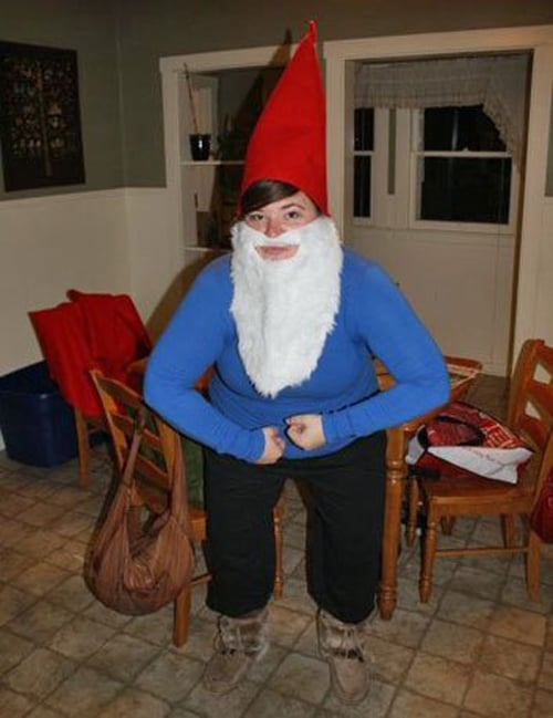 diy halloween costumes garden gnome cheap costumes 30948