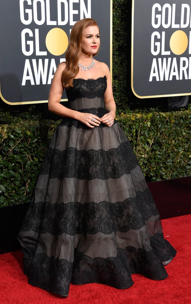 Isla Fisher at the 2019 Golden Globes