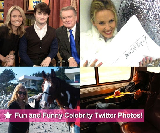 Fun and Funny Celebrity Twitter Pictures 2010-11-18 22:30:00