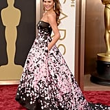 Chrissy Teigen at the 2014 Oscars
