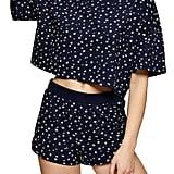 Topshop Ditsy Floral Boxy Pajamas