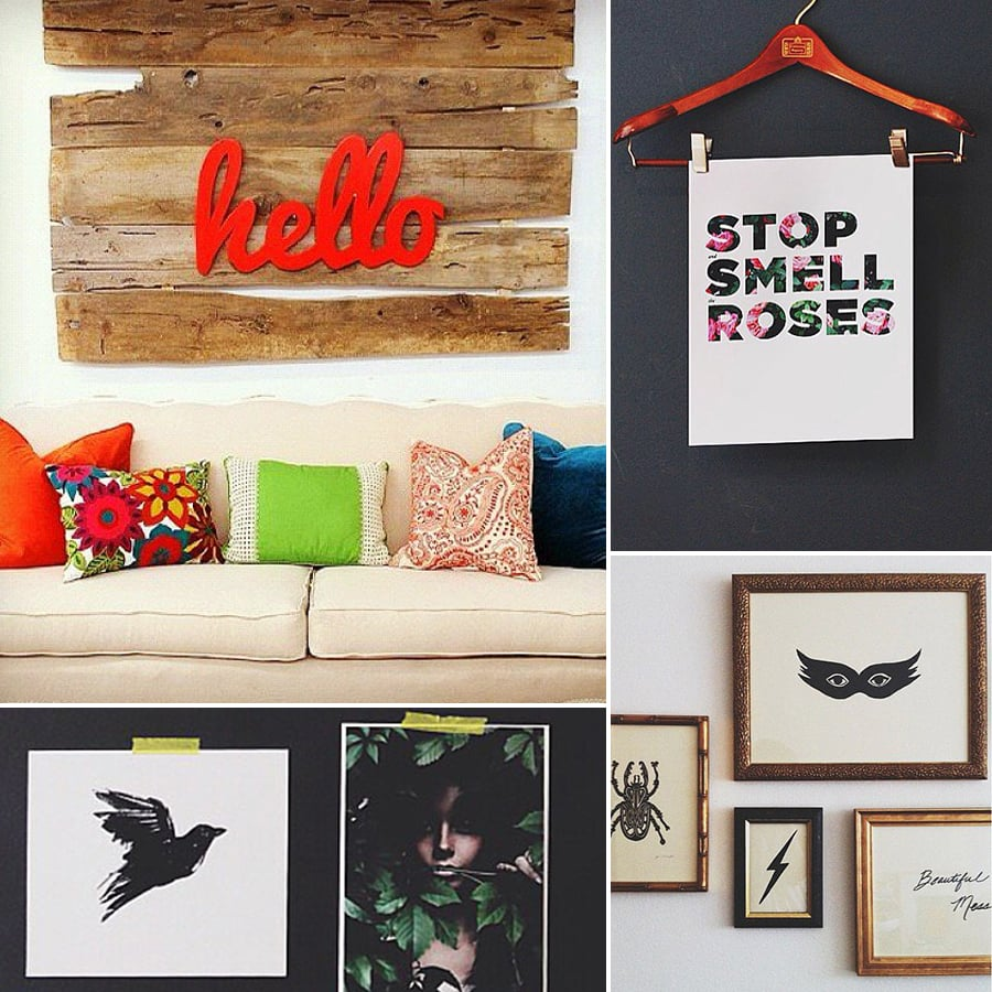 How to Decorate Your Walls | POPSUGAR Home