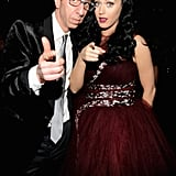 Jason Flom and Katy Perry got pointy.