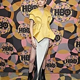 Hunter Schafer at a Golden Globes Afterparty