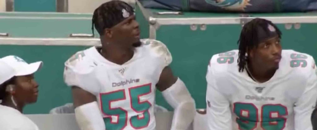 Miami Dolphins Player Looking For His Mom at a Game | Video