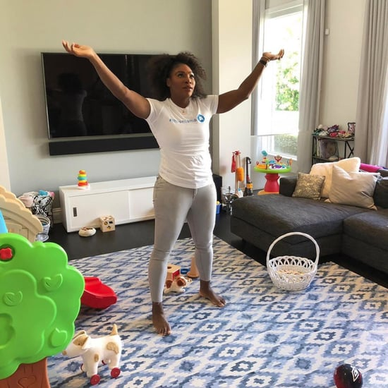 Serena Williams's Living Room