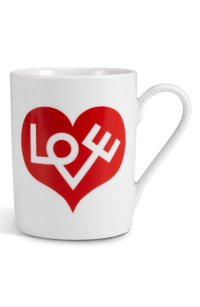 Vitra Love Heart Porcelain Coffee Mug
