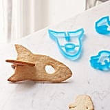 Spaceship 3D Cookie Cutter Set