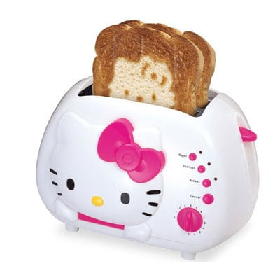Hello Kitty two-slice toaster ($30)