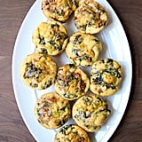 Kale, Caramelized Onion, and Gouda Egg Muffins