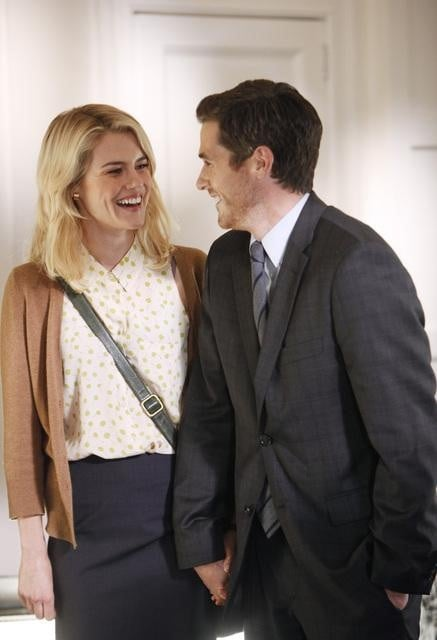 Rachael Taylor and Dave Annable on 666 Park Avenue.