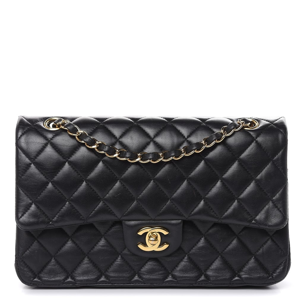Chanel Lambskin Quilted Medium Double Flap Bag