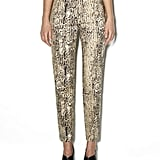 A statement printed pair for Spring drinks and dinner dates.  Vince Camuto Cropped Pocket Safari Pant ($99)