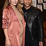 Chrissy Teigen and John Legend at Book Signing